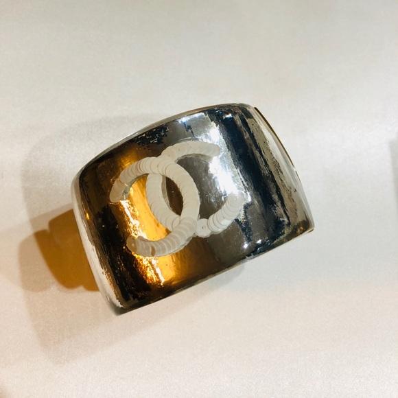 CHANEL Jewelry - Chanel Resin cuff
